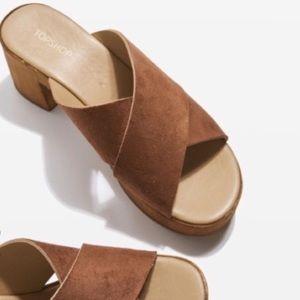 Topshop Clog Mules Slipon Sandals